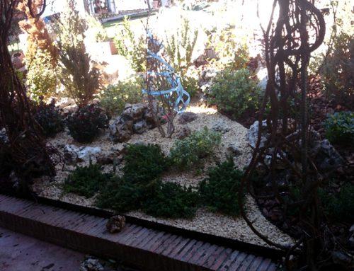 Diseño de jardín de Rocalla en Daganzo