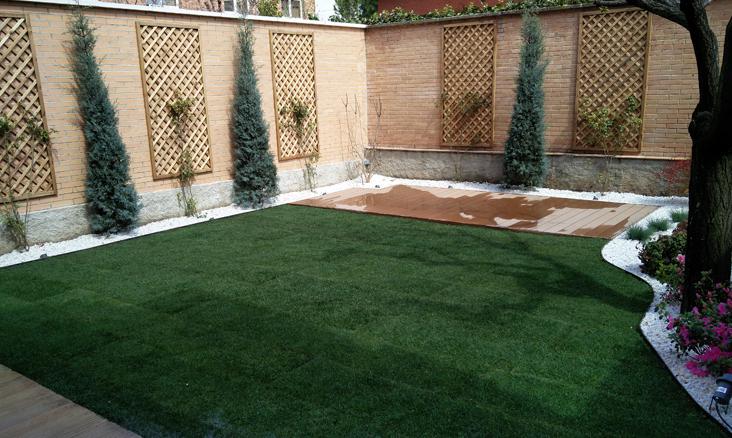 Proyectos de jardines en Madrid