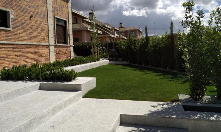 Proyecto de jardineria en Madrid