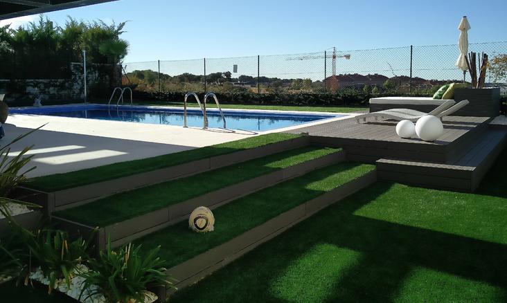 proyecto de jardinería en Madrid