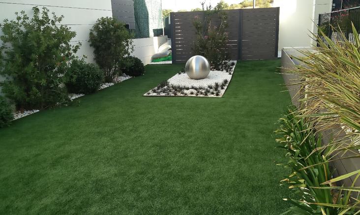 Dise o de jard n en las lomas jardiner a en madrid gardenia madrid - Diseno jardines madrid ...