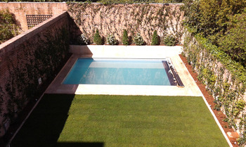 Dise o de jard n en paseo de la habana gardenia madrid for Diseno de jardines madrid