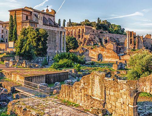 El jardín en el Imperio Romano