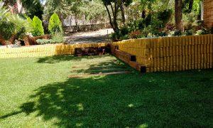 proyectos de ajardinado en chalet en la sierra de madrid