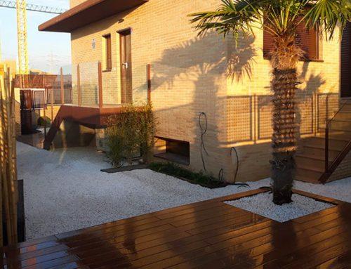 Diseño de Jardín en vivienda pareada de Villaviciosa de Odón