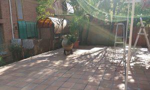 jardinería en chalets adosados