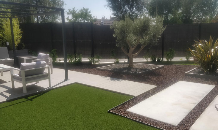 Diseño de jardines en bajos y adosados
