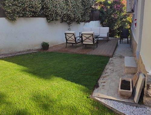 Reforma y actualización de un jardín en Mirasierra